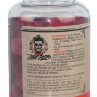 Biotina Gummy 10.000mcg - sabor morango com 100 unidades