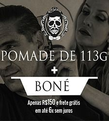 Kit DJP 1: Pomada 113g + Boné