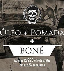 Kit DJP 3: Pomada 113g + Óleo + Boné