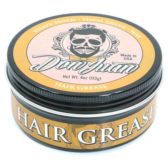 Don Juan Hair Grease - Cera para Cabelo Masculino - 113 gramas