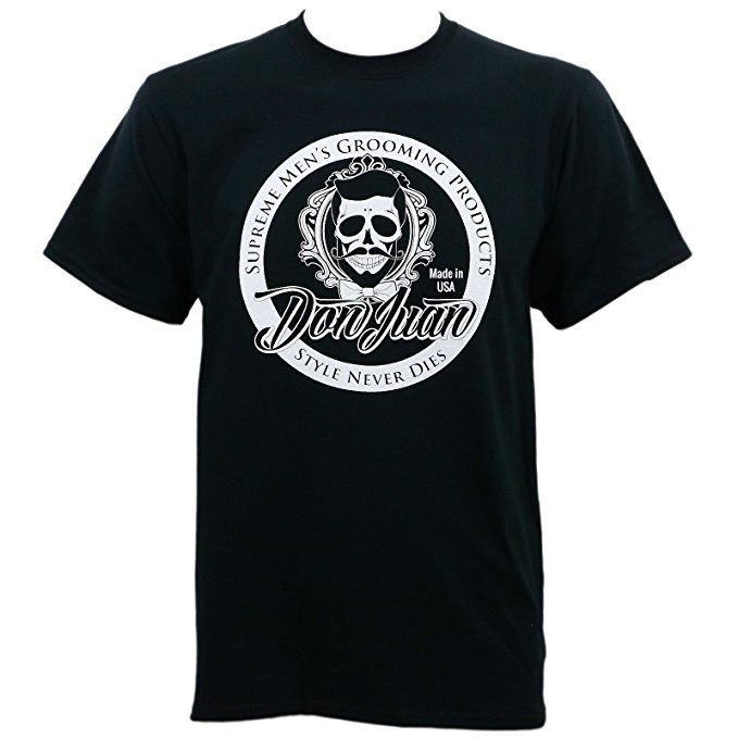 Camiseta masculina Don Juan manga curta estampa frontal