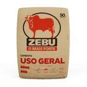 Cimento Zebu saco com 50 KG (em até 3 X sem juros)