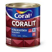 Tinta Coral Coralit Ultra Resistência Fosco Preto 900ml
