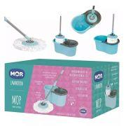 Esfregão Balde Mop Limpeza Prática - 13 Litros