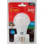 Lâmpada A60 Led 8w 12v 6500k E27 G Light