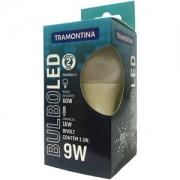 Lâmpada LED Tramontina Bulbo Base E27 9 W Bivolt 6500 K Luz Branca