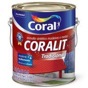 Tinta Coralit Esmalte Sintético  Branco Brilhante - 3,6l - Coral