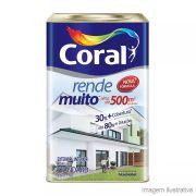 Tinta Acrílica Standard Rende Muito Coral Branco Neve Fosca 18 L