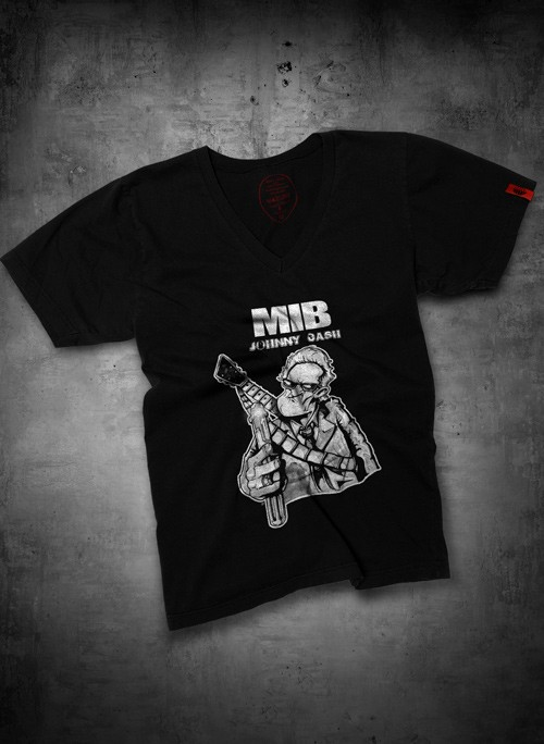 CAMISETA MIB JOHNNY CASH GOLA V