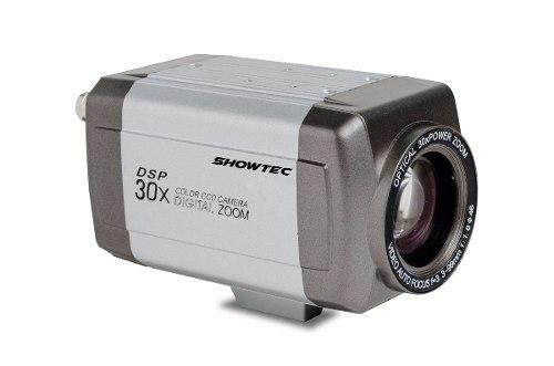 Cftv Camera Profissional Zoom 30x 600tlv Showtec + Cxa Proteção