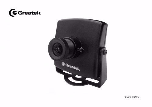 Micro Camera Greatek Ccd Digital 480 Linhas Real 3,6mm