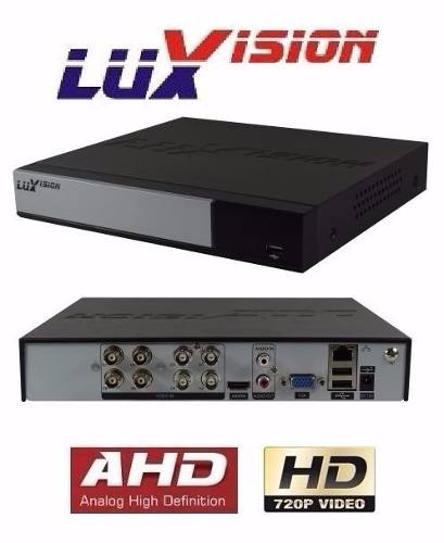 Kit Cftv Hd Luxvision Dvr 16 Ch 16 Câmera Ahd