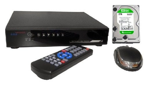 Dvr Stand Alone 16 Canais Lux Vision 480x480f H264 + Hd 2tb