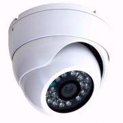 Kit 4 Câmeras Dome Cftv Ahd M 1.3 + 1 Cam 4 Leds Ahd 1.3