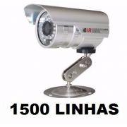 Kit 12 Câmeras Infra Ccd Sony 1/3 1500 Linhas + 12 Fontes
