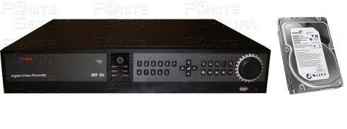 Dvr Stand Alone Lux Vision 32 Canais H264 960/960fps +hd 2tb