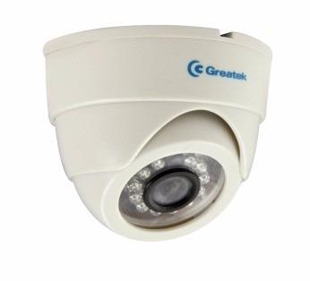 Câmera Cftv Infra Dome Greatek 10m 640 Linhas Lente 2.5mm