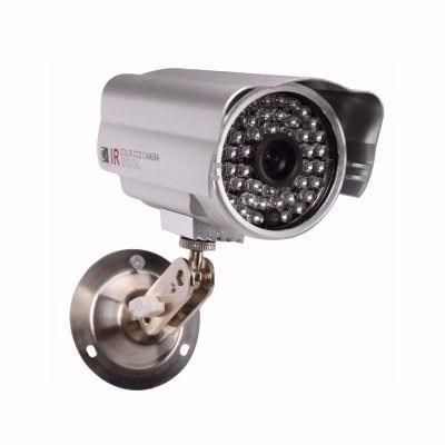 Kit Com 4 Câmeras 2 Cameras 48 Leds + 2 Cameras Dome 1500l