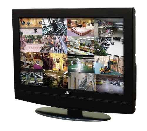 Kit Monitoramento Cftv + 16 Cameras 1500linhas + Monitor +hd