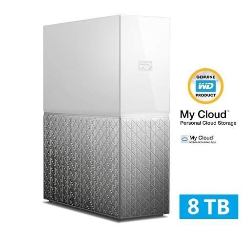 Servidor Storage Nas Wd My Cloud Home 8tb Nuvem