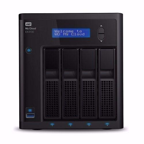 Servidor Nas Wd My Cloud Expert Series Ex4100 4bay Raid Jbod