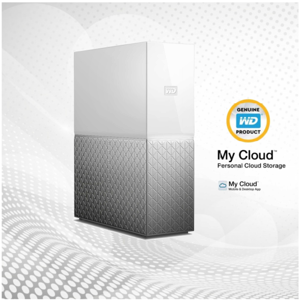 Servidor - Nas Wd My Cloud Hd 6tb - Nuvem - Western Digital