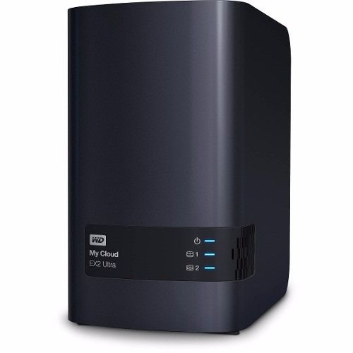 Servidor Storage Nas Wd My Cloud Ex2 Ultra 4tb