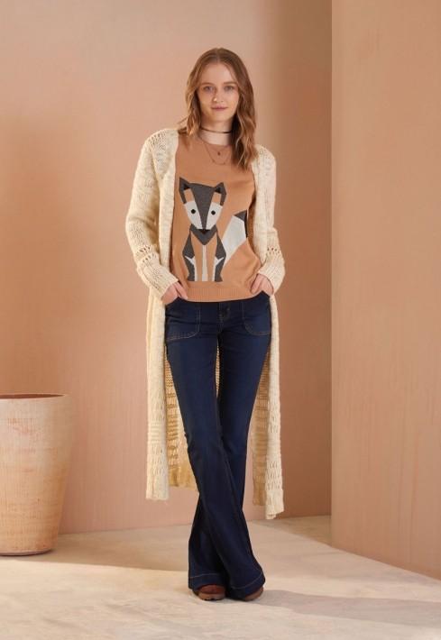 Blusa Mosaico Fox
