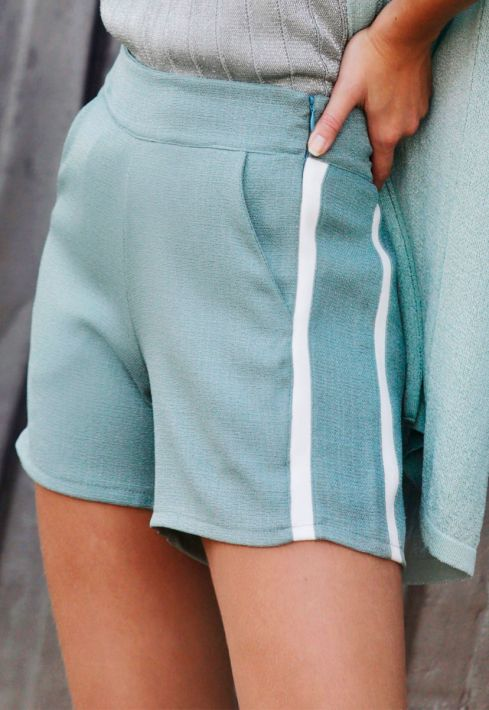 Shorts Crush com Viés Lateral - Marthina Brandt