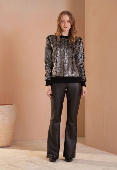 Blusa Fur Shine