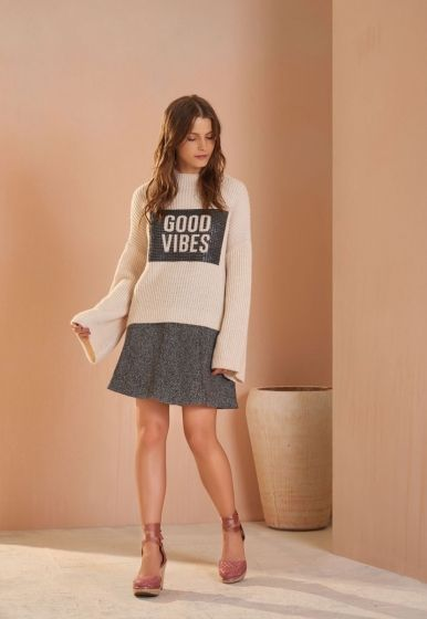 Blusa Tricot Good Vibes