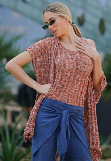 Kimono Aberto Fio Faith - Marthina Brandt
