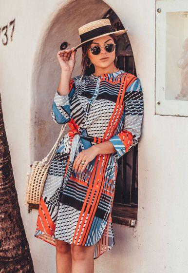 Vestido Print Colors - Rafinha Gadelha