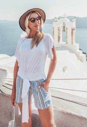 Bermuda Linho Casablanca