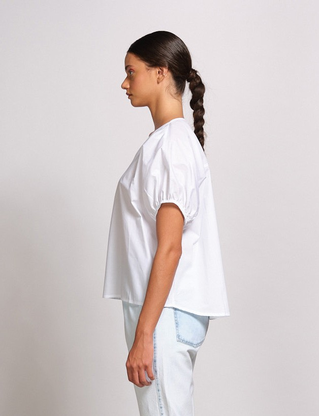 Blusa De Tricot Ombro Deslocado