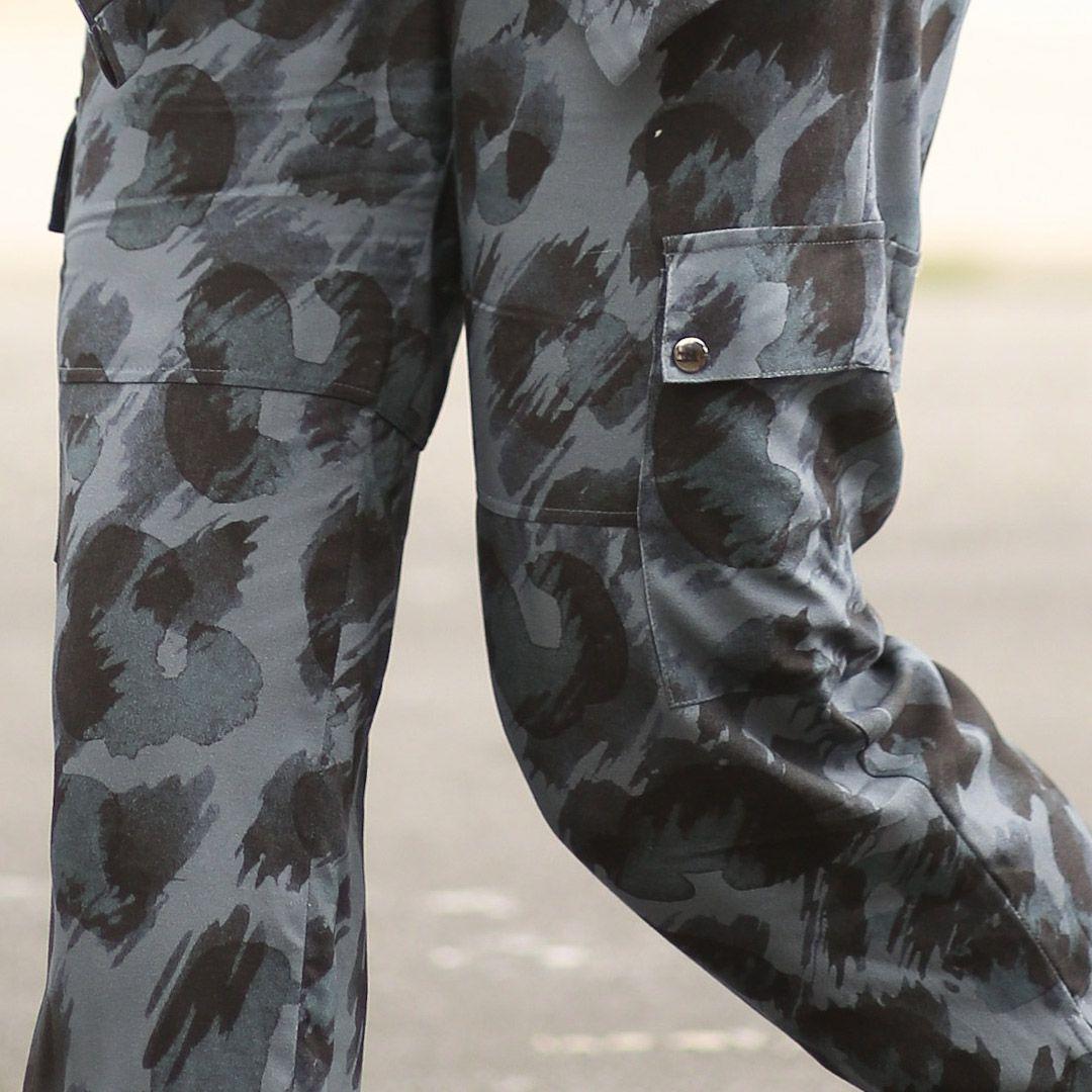 Calça Leopard