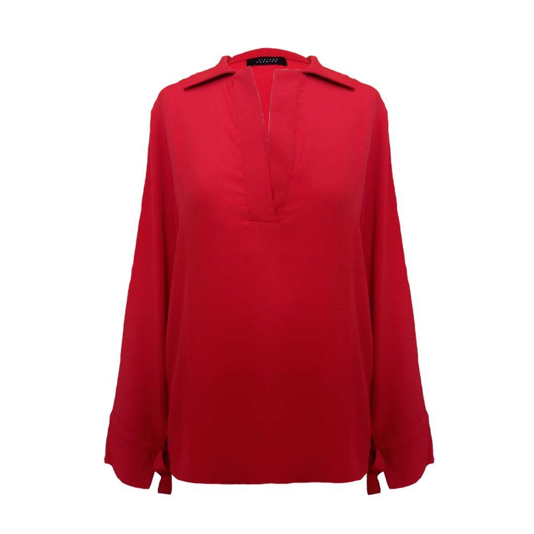 Camisa Manga Amarração