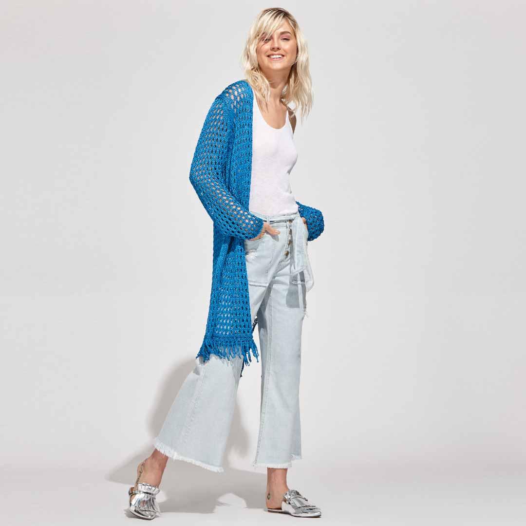 Jeans Amarração Cós