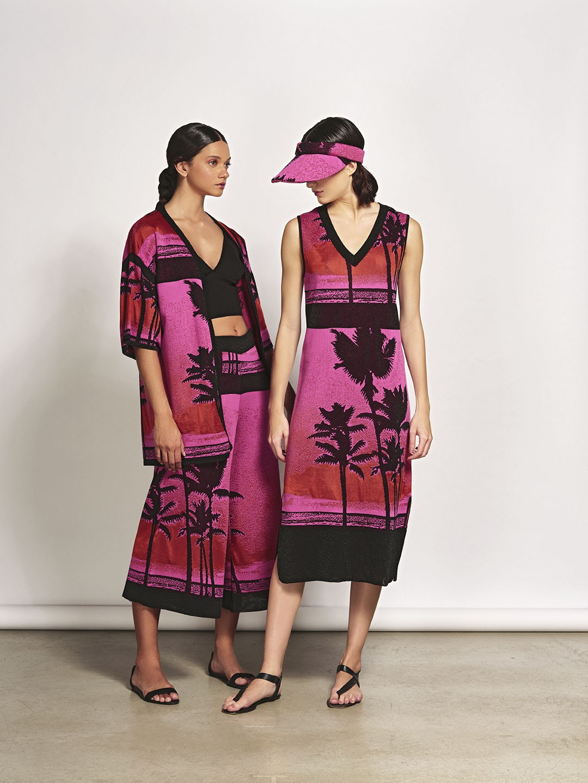 Kimono em Tricot Jacquard Igarassu