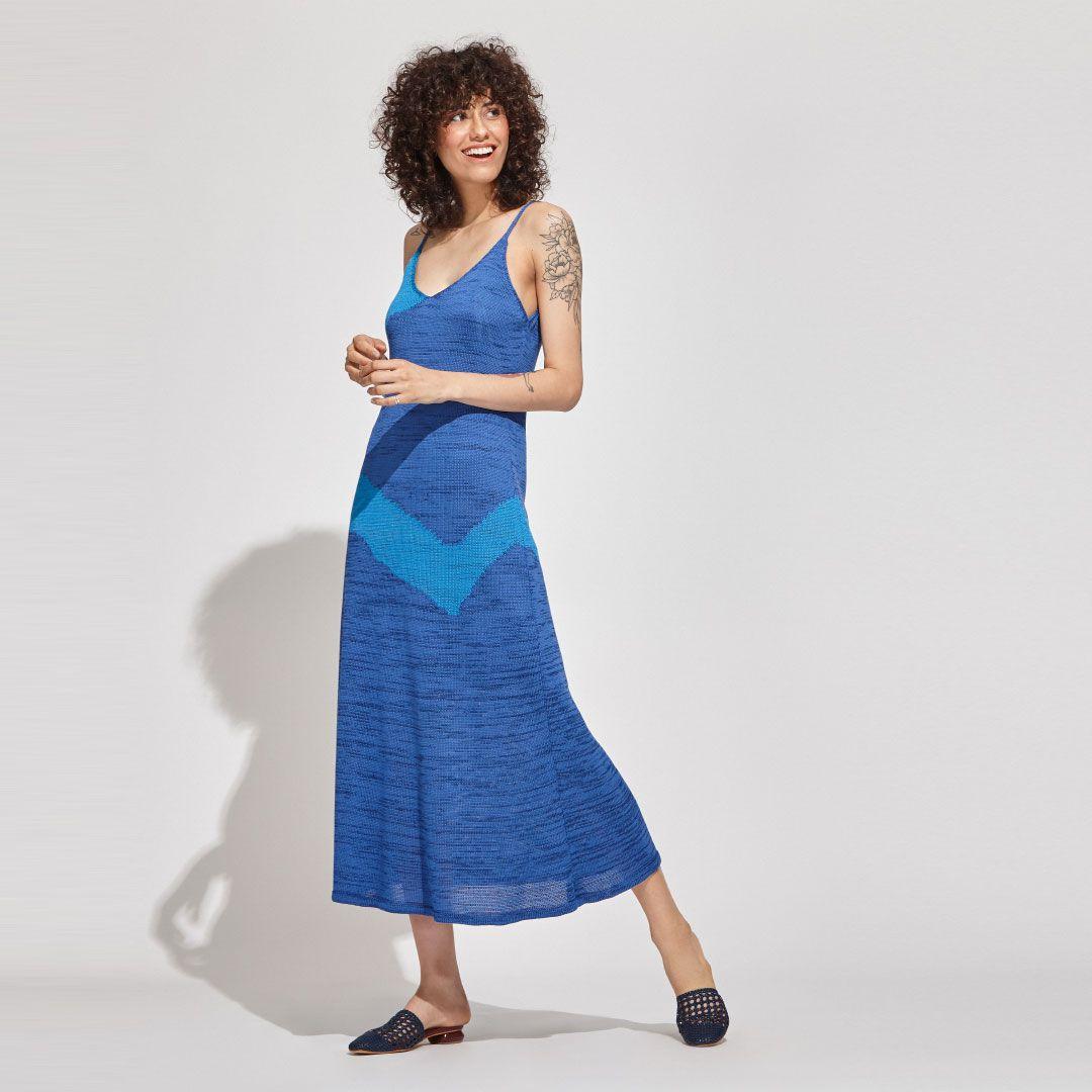 Vestido Manchado Linha