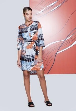 Vestido Print Collors