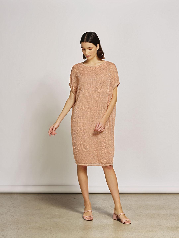 Vestido Tricot Botone