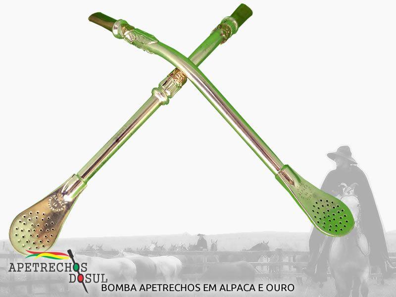 Bomba de Chimarrão em Alpaca Argentina