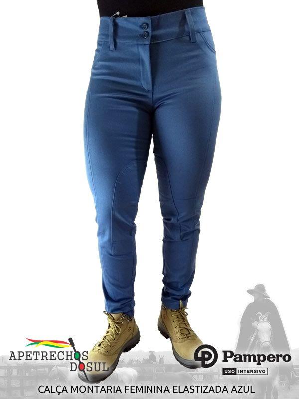 Calça Pampero Montaria Feminina Elastizada