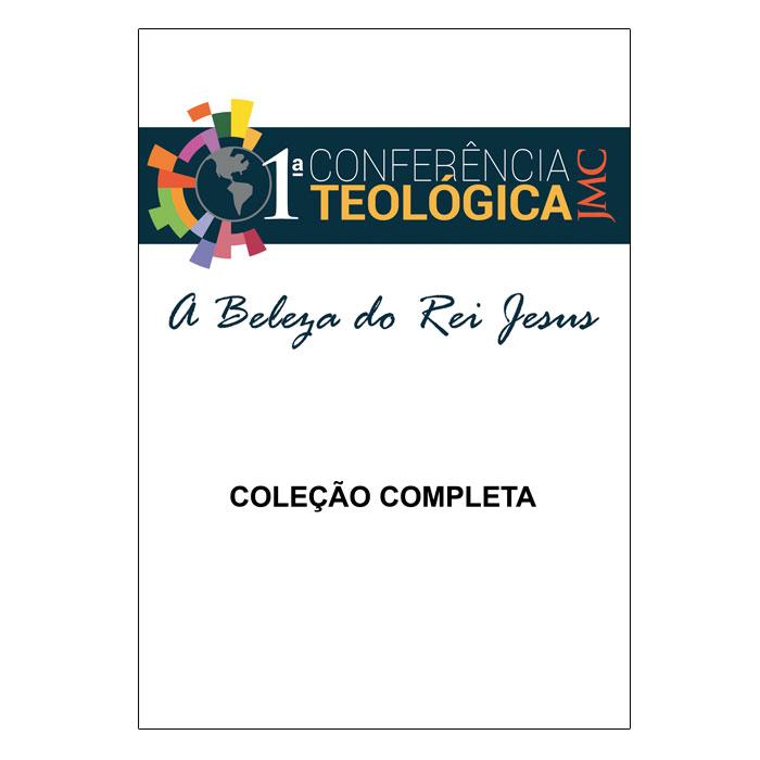 Coleção JMC - 1ª Conferência Teológica - A Beleza doRei Jesus - 5 DVDs  - COMEV