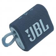 Caixa de Som Bluetooth JBL GO 3 Blue (Azul) JBLGO3BLU