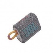 Caixa de Som Bluetooth JBL GO 3 Grey (Cinza) JBLGO3GRY