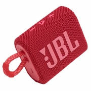 Caixa de Som Bluetooth JBL GO 3 Red (Vermelha)  JBLGO3RED