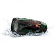 Caixa de Som Bluetooth Portátil JBL Charge 4 Squad (Camuflada) JBLCHARGE4SQUAD