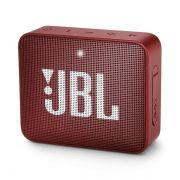 Caixa de Som Bluetooth Portátil JBL GO 2 Vermelha JBLGO2REDBR